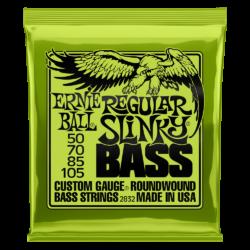 Basszusgitár húrkészlet Ernie Ball Bass Slinky Bass 50-105