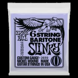 Bariton gitár húrkészlet Ernie Ball nickel wound slinky 13-72