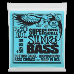 """Basszusgitár húrkészlet Ernie Ball flatwound bass group 38"""" 45-100"""