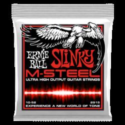 Elektromos gitárhúr Ernie Ball m-steel skinny top heavy bottom slinky 10-52