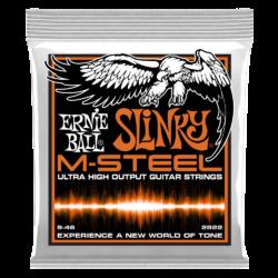 Elektromos gitárhúrkészlet Ernie Ball M-Steel Hybrid Slinky 9-46
