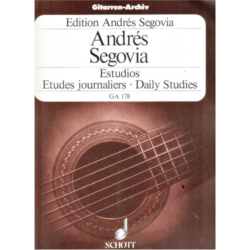 ETUDES JOURNALIERS   FOR GUITAR