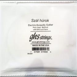 Elektromos gitárhúr GHS  012
