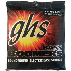 Basszusgitár húrkészlet Boomers, Short Scale Light 45-95