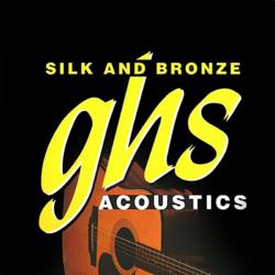 Akusztikus gitárhúrkészlet GHS 12 húr