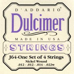Dulcimer húrkészlet D'addario J64