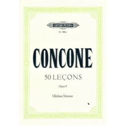 50 LECONS OP.9. MITTLERE STIMME