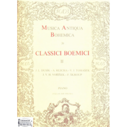 CLASSICI BOEMICI II.MUSICA ANTIQUABOHEMICA 20. PIANO