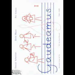 GAUDEAMUS I.27 CHANSONS ET 7 CANONSD'EUROPE 1 OU 2 VOIX,FLUTE Á BEC,