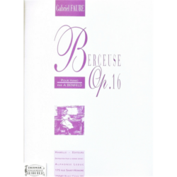 BERCEUSE OP.16.POUR PIANO