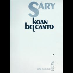 KOAN BEL CANTO ZONGORÁRA/CSEMBALLÓRA VAGY CIMBALOMRA/