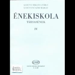 ÉNEKISKOLA IV.