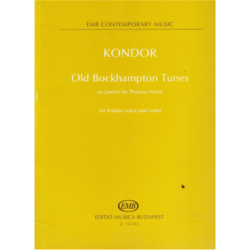 OLD BOCKHAMPTON TUNES FOR FEMALE VOICE AND VIOLIN