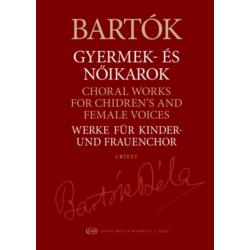 Bartók Béla, Gyermek- és nőikarok