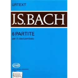 6 PARTITE PER IL CLAVICEMBALO BWV 825-830