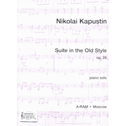 SUITE IN THE OLD STYLE OP.28.PIANO SOLO