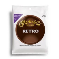 Akusztikus gitárhúrkészlet Martin Retro 13-56