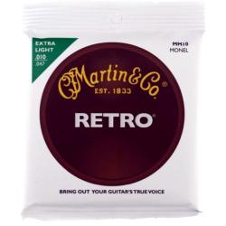 Akusztikus gitár húrkészlet Martin Retro 10-47