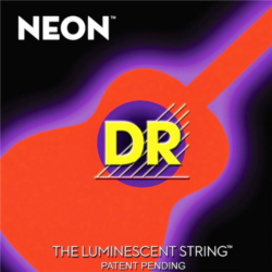 Akusztikus gitár húrkészlet NEON narancs 11-50