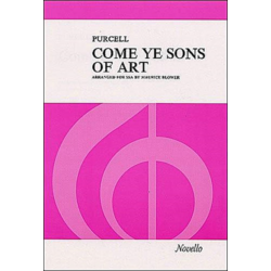 Purcell, Come Ye Sons Of Art