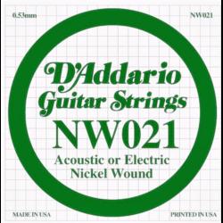 Eletromos gitárhúr D'addario darab NW021