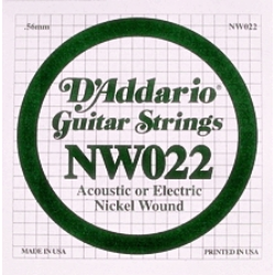 Eletromos gitárhúr D'addario darab NW022