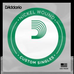 Elektromos gitárhúr D'Addario darab nikkel NW025