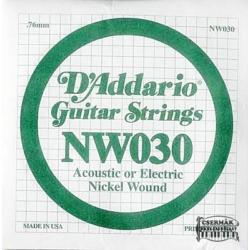 Elektromos gitárhúr D'Addario NW030