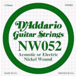 Elektromos gitárhúr D'Addario 052