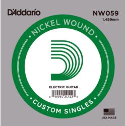 Elektromos gitárhúr D'Addario NW059