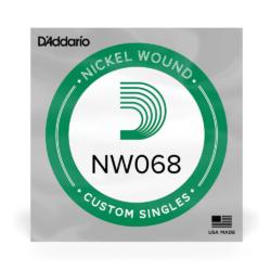 Elektromos gitárhúr D'Addario 068