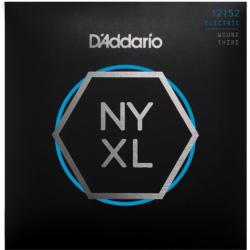 Elektromos gitárhúrkészlet D'Addario NYXL 12-52