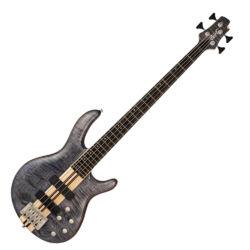 Cort el.basszusgitár, nyílt pórusú kékesfekete