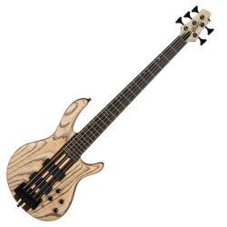 Cort 5-húros el.basszusgitár, natúr fekete erezettel