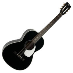 Cort akusztikus gitár elektronikával, Parlor, fekete