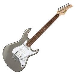 Cort el.gitár, hársfa test, Bluebucker PU, ezüst
