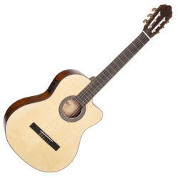 Cort klasszikus gitár elektronikával, matt natúr