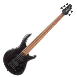 Cort el.basszusgitár, 5 húros, Bartolini Preamp, fekete