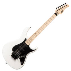 Cort el.gitár, hársfa test, fehér