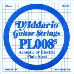 Elektromos gitárhúr D'Addario 0,085