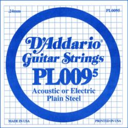 Elektromos gitárhúr D'addario darab PL0095