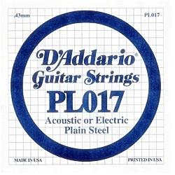 Elektromos gitárhúr PL017