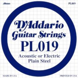 Elektromos gitárhúr D'Addario PL019