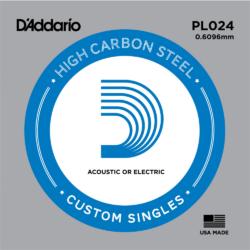 Elektromos gitárhúr D'Addario darab PL024