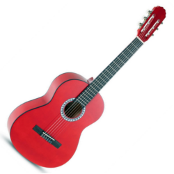 Klasszikus gitár 3/4 Gewa Basix piros
