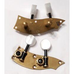 Hegedűkulcs fém, bőgő rendszerű 28436