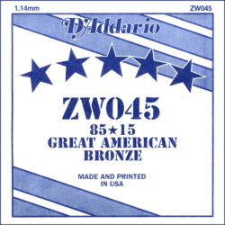 Akusztikus gitárhúr D'Addario  ZW045