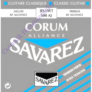 Klasszikus gitárhúrkészlet Savarez Corum Rouge