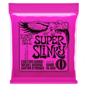 Elektromos gitárhúrkészlet Ernie Ball super slinky 09-42