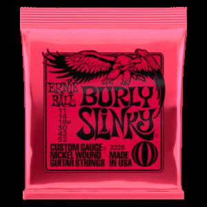 Elektromos gitárhúrkészlet Ernie Ball Burly Slinky 11-52